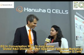 EQ in conversation with Dr. Jorg Gehler, Expert Specialist Technical Marketing at Hanwha Q Cells
