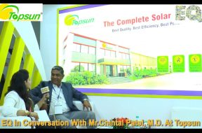 EQ in conversation with Mr. Chintal Patel, M.D. at Topsun