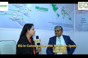 EQ in conversation with Mr. Hitesh Doshi, Chairman at WAAREE