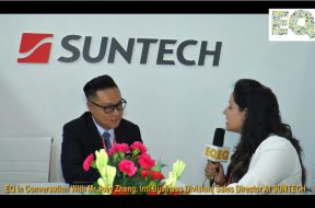 EQ in conversation with Mr. Joey Zheng, Intl. Business Division Sales Director at Suntech