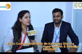 EQ in conversation with Mr. Kartikeya Sharma, Head-Growth & Strategy at Sunsure