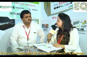 EQ in conversation with Mr. Pradeep Srikanthan, V.P. at Redington.
