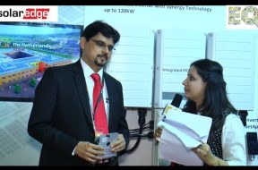 EQ in conversation with Mr. Shashidhara BV, Head-Solar Edge India