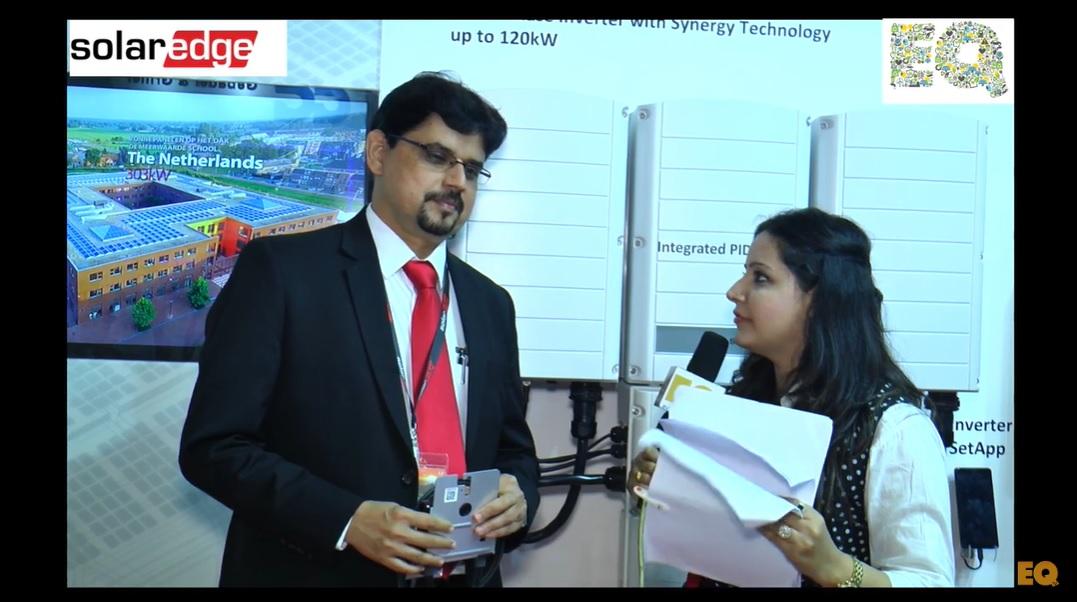 EQ in conversation with Mr. Shashidhara BV, Head-Solar Edge India