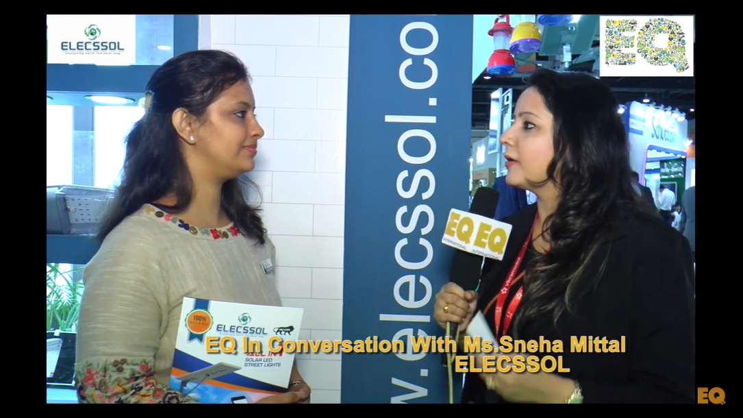 EQ in conversation with Ms. Sneha Mittal, ELECSSOL