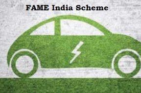 FAME India Scheme