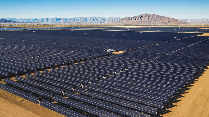 Giant batteries and cheap solar power are shoving fossil fuels off the grid