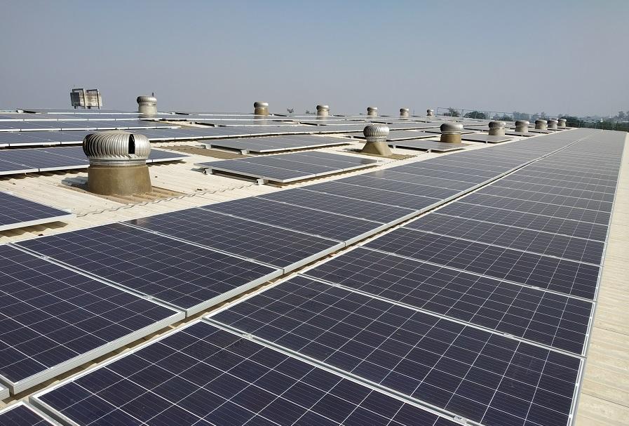 Godrej & Boyce Mfg Ltd proudly announces the successful commissioning of 1 MW solar rooftop at Munjal Auto Industries Ltd., Vadodara, Gujarat