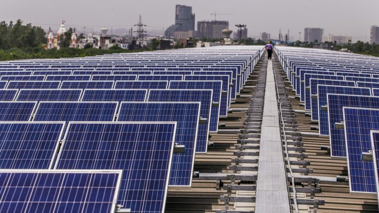 India is now producing the world's cheapest solar power