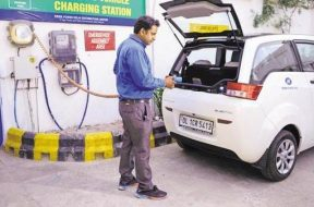 NDA govt to offer income tax exemption for EV buyers