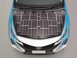 NEDO, Sharp, and Toyota Cooperate to Test High-efficiency Solar-power Prius PHV During Late July