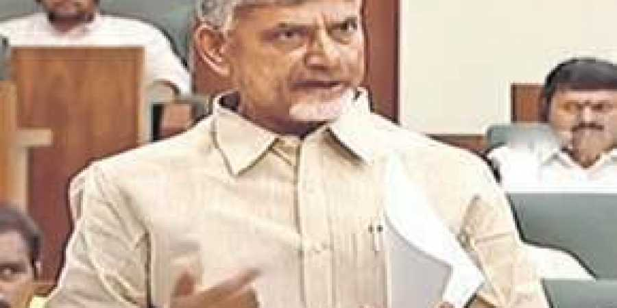TDP chief Chandrababu Naidu says government misleading people with false reports