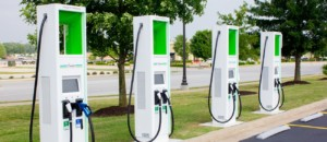 New electric car charging stations installed at Midlands Walmart