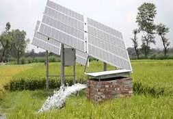 No proposal to give free solar pumps to farmers