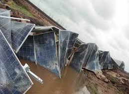 Rewa News – Asia's largest solar power plant suffered heavy loss from rain
