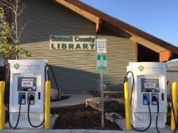 Summit County Adds More Electric Vehicle Charging Stations