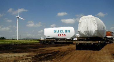 Suzlon Energy tumbles 6% on concerns over looming default