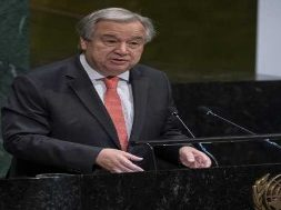 UN chief calls on world leader to attend 2019 Climate Summit