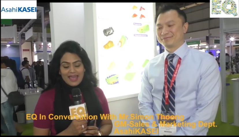 EQ in conversation with Mr. Simon Thoong GM- Sales & Marketing Dept. AsahiKASEI