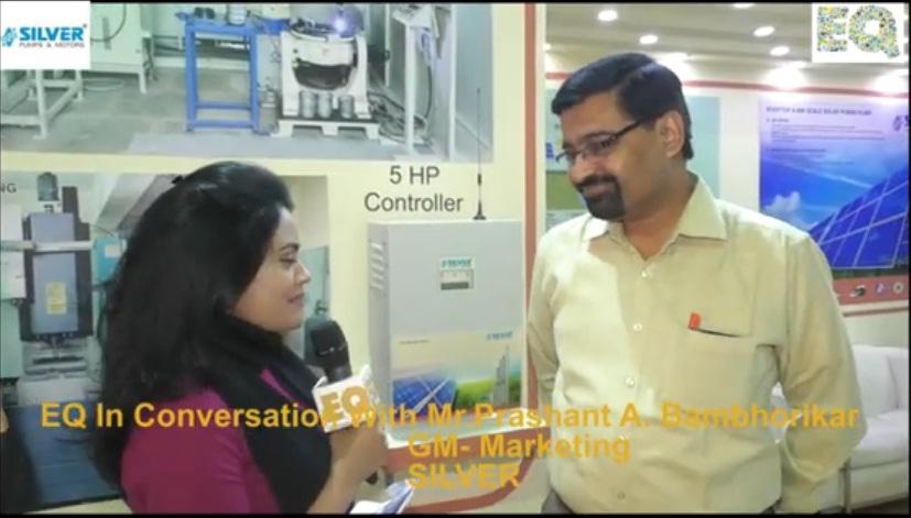 EQ in conversation with Mr. Prashant A. Bambhorikar GM- Marketing at SILVER