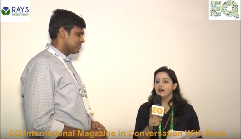 EQ International Magazine in conversation with Rays