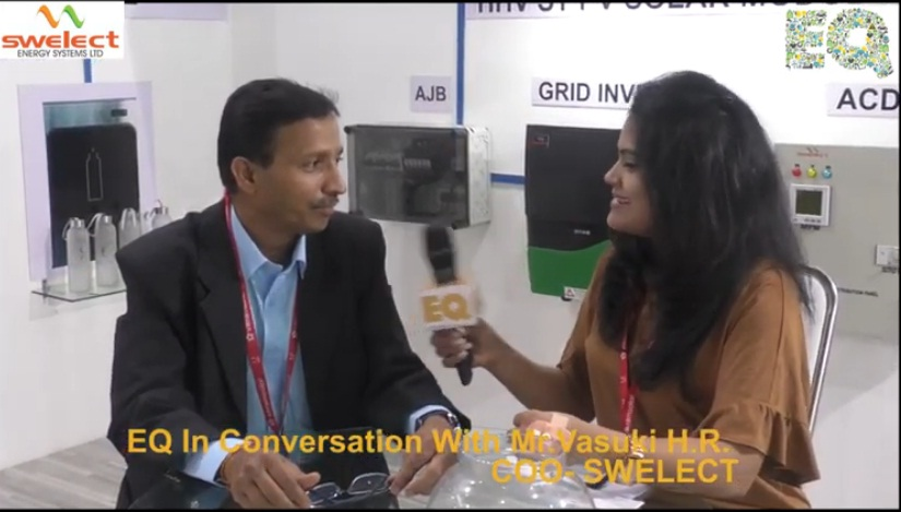 EQ in conversation with Mr. Vasuki H.R. COO- SWELECT