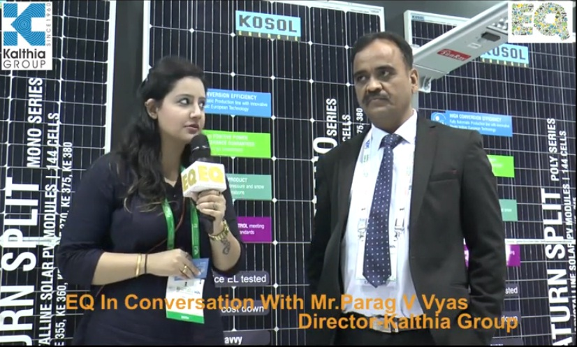 EQ in conversation with Mr. Parag V Vyas Director- Kalthia Group