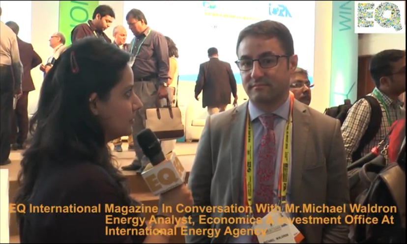 EQ in conversation with Mr. Michael Waldron at International Energy Agency