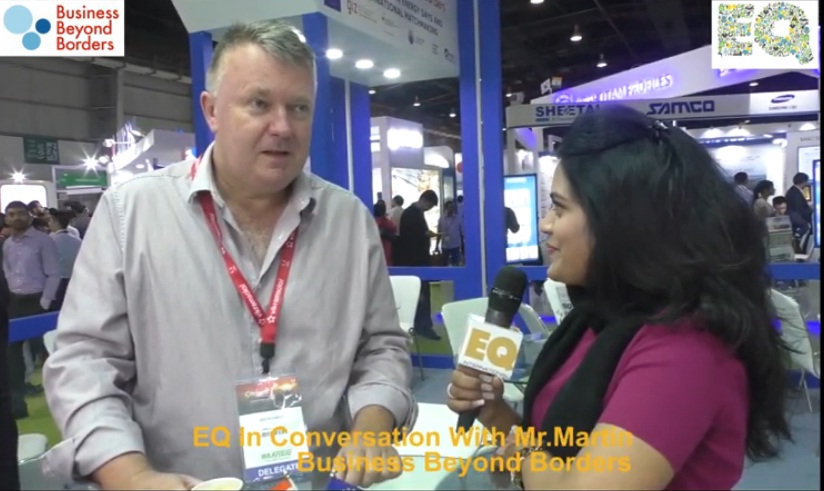 EQ in conversation with Mr. Martin, Business Beyond Borders