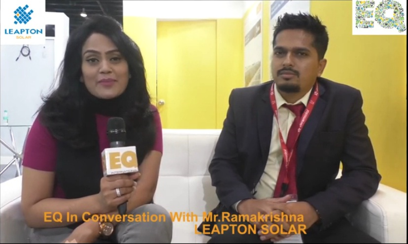 EQ in conversation with Mr. RamaKrishna, LEAPTON SOLAR