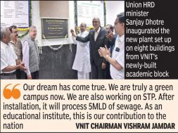 VNIT turns fully green, solar power to save Rs76L per yr, cut emission