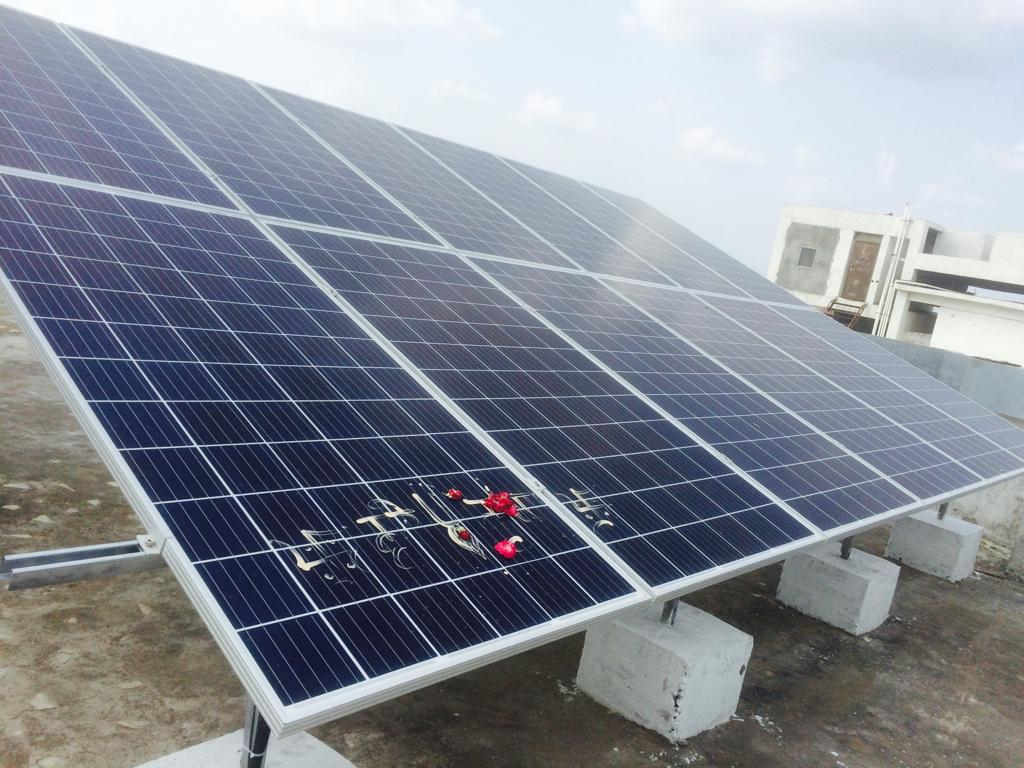 GoodWe & EQ Puts 35KW RoofTop Solar Plant at ISKCON Temple Ujjain