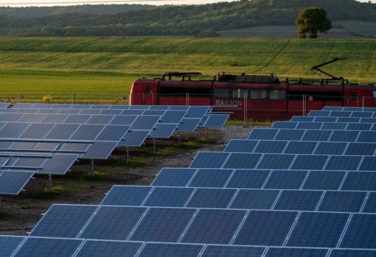Can India Build the World's First 100% Green-Energy Rail Network?
