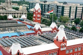 Chennai Central rail station all set to tap solar energy