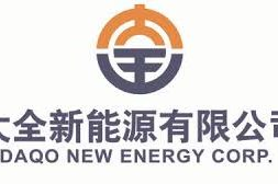 Daqo New Energy Announces Unaudited Second Quarter 2019 Results