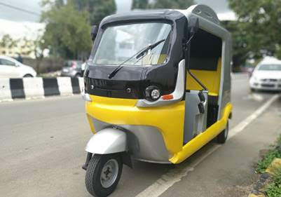 FIRST INSTANT-CHARGING ELECTRIC THREE-WHEELER IN INDIA UNVEILED BY SHADO GROUP, SINGAPORE