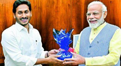Jagan Mohan Reddy briefs PM Modi on corruption in PPAs, reiterates SCS request