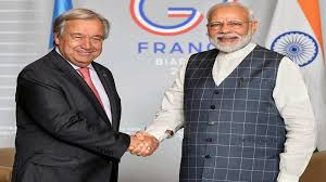Modi has recommitted to leading climate change fight- UN official