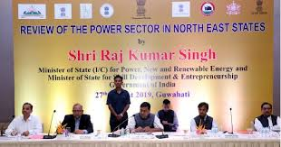 Power Minister Shri RK Singh holds meeting with North-Eastern States, reviews power sector in the region