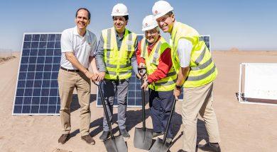 SONNEDIX CELEBRATES THE START OF CONSTRUCTION OF SONNEDIX ATACAMA SOLAR, ONE OF CHILE'S LARGEST SOLAR POWER PROJECTS