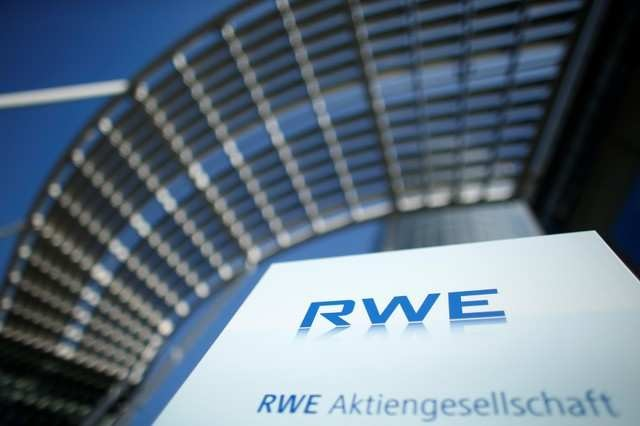 Germany's RWE first half core profit surges on energy trading boost