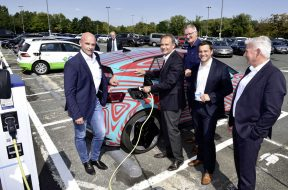 Volkswagen Expanding Electric Charging Stations in Germany