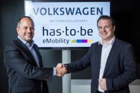 Thorsten Nicklass (CEO) VW-Elli (VW Naturstrom)  trifft  Martin Klässner (CEO ) Has-to-be ( Software für Ladesäulen)
