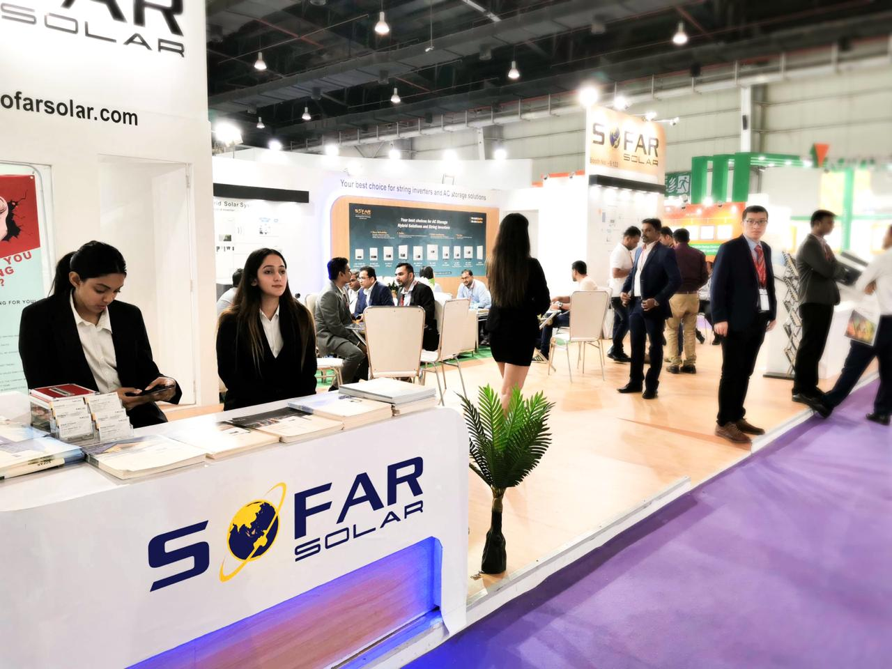 Sofarsolar attended REI and Showed the Newest product,Improve brand recognition