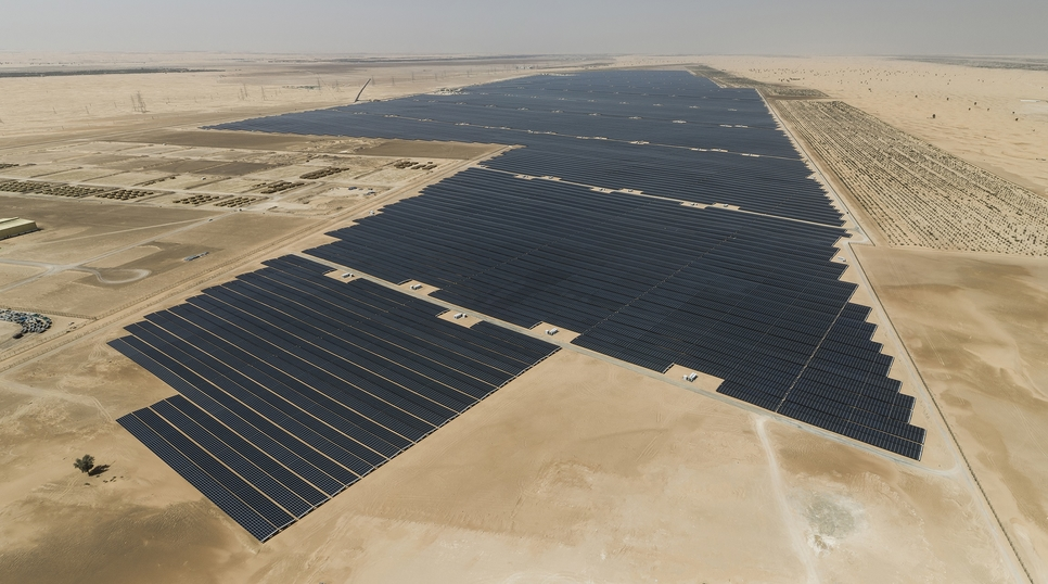 EWEC 2GW Solar Plant to Be Operational in Q1 2022