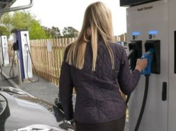 Electric vehicle charging hub opens in Dundee