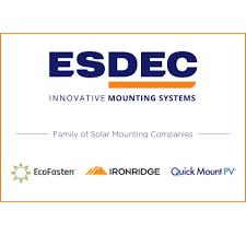 Esdec Acquires IronRidge and Quick Mount PV