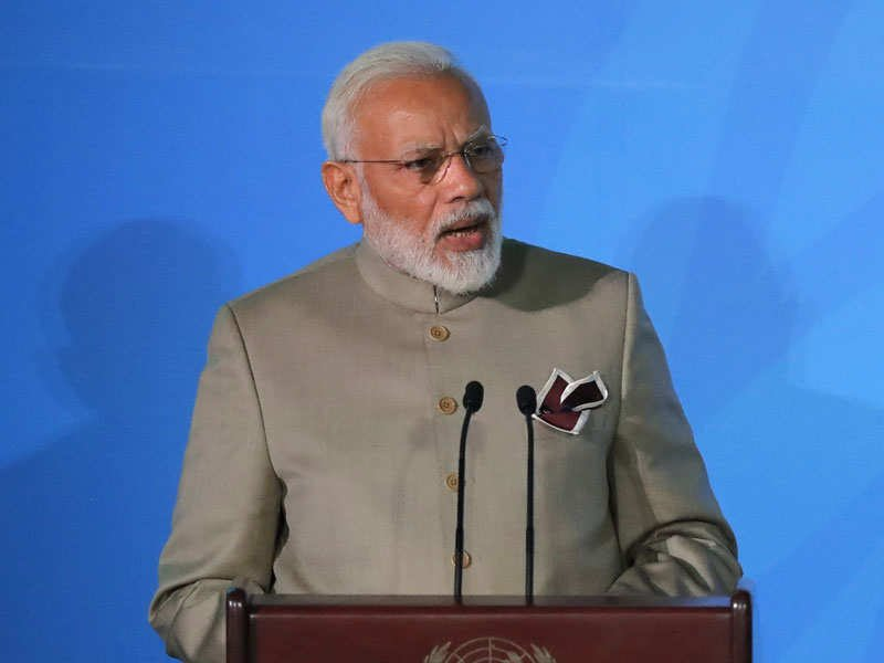 PM Modi vows to more than double India's non-fossil fuel target to 450GW