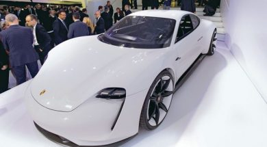 Porsche takes fight to Tesla with electric Taycan