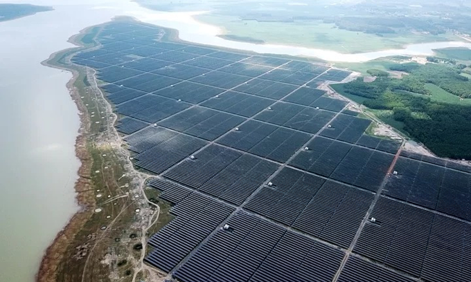 Southeast Asia's largest solar farm begins operations in southern Vietnam